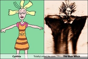 Cynthia Totally Looks Like The Blair Witch