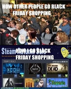My wallet cheated on me with Steam.