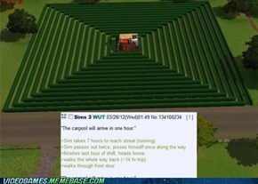 Screwing with the Sims