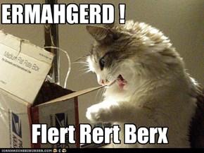 If it ferts it sherps