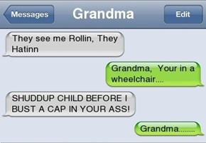 Alright Grandma, No More NWA For You