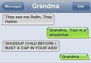 Alright Grandma, No More NWA For You