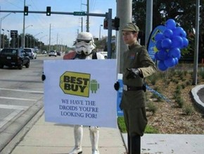 Best Buy Gets Ready for Star Wars 7