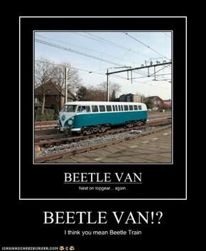 BEETLE VAN!?