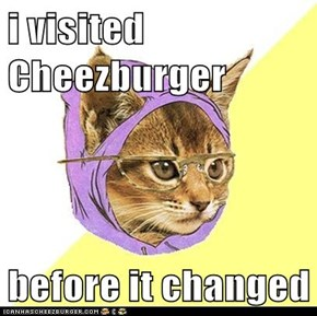 i visited Cheezburger  before it changed