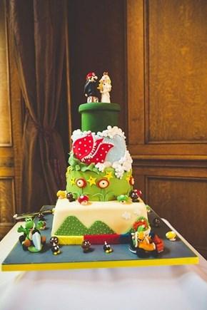 Mario Cake Tower