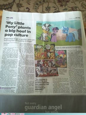 Bronies, we're in the News!