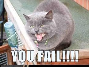 YOU FAIL!!!!