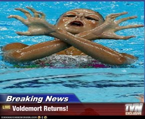 Breaking News - Voldemort Returns!