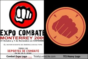 Combat Expo Logo Totally Looks Like Tf2 Heavy Logo