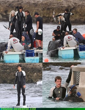 Wacky Wetsuits of Catching Fire