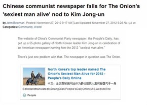 Believing The Onion FAIL