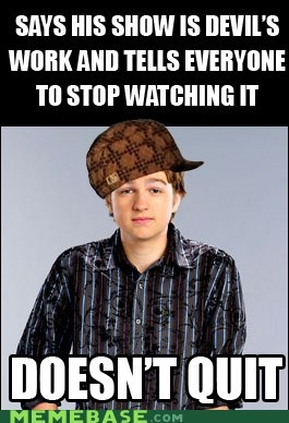 Scumbag Angus T. Jones