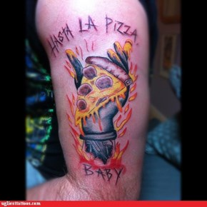 Hasta La Pizza Baby