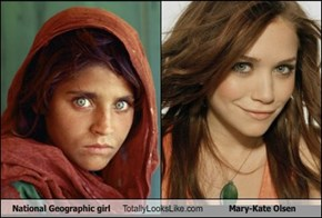 National Geographic girl Totally Looks Like Mary-Kate Olsen