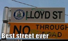 Best street ever