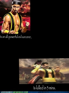 """Powerful"" Liu Kang"