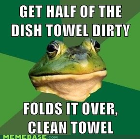 Towel Bachelor Frog
