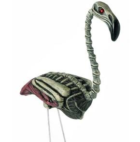 Macabre Zombie Flamingo