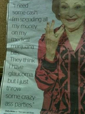 Betty White is Seriously Awesome