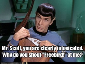 Spock Was Oblivious to the Ways of Southern Rock