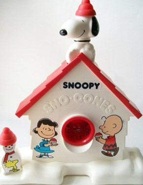 Must Have Nostalgia: Snoopy Sno Cones