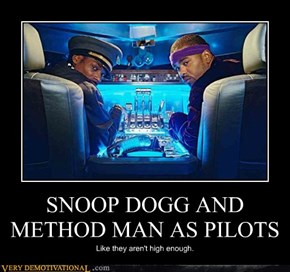 SNOOP DOGG AND METHOD MAN AS PILOTS