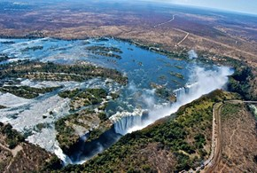 All the Glory of Victoria Falls, Zimbabwe