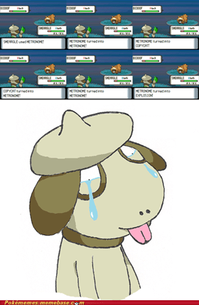 Poor Smeargle