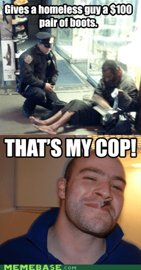 Could that cop be...