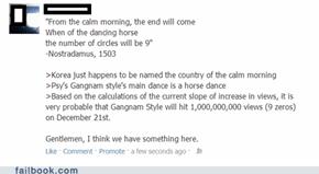 Gangnam Prophecy