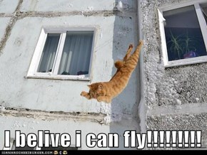 I belive i can fly!!!!!!!!!