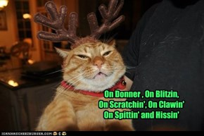 The clawed reindeer you never hear about . . .