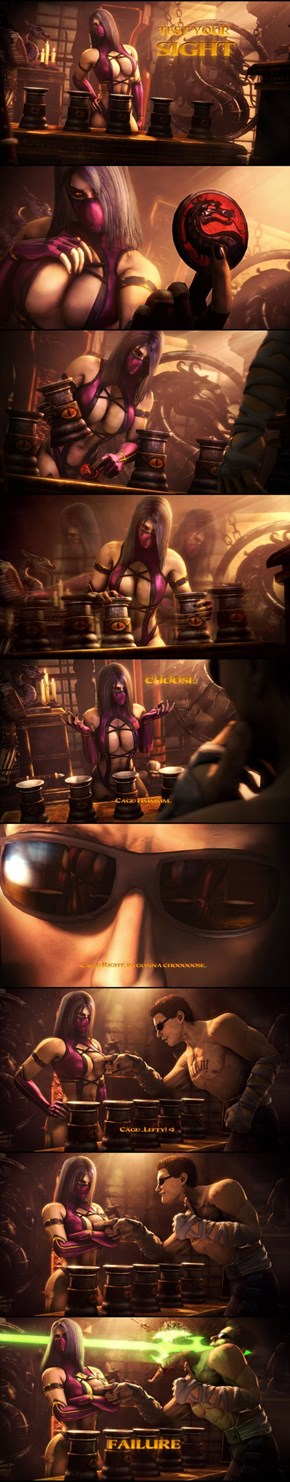 Test Your Sight With Mileena