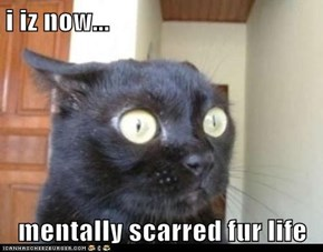 i iz now...  mentally scarred fur life