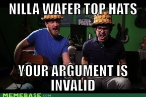 Nilla Wafer Top Hat Time!