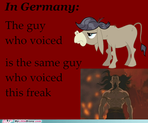 German Cranky = German Firelord Ozai