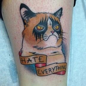 Grumpy Cat Tat
