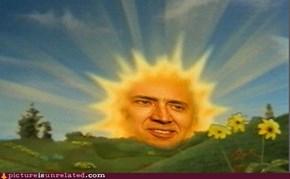 Nicolas Sunshine Cage