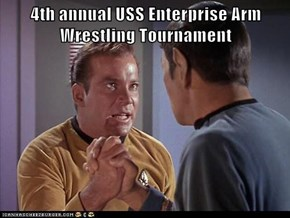 4th annual USS Enterprise Arm Wrestling Tournament
