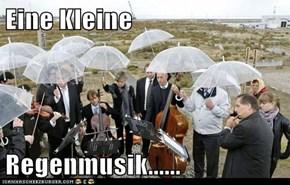 Eine Kleine  Regenmusik......