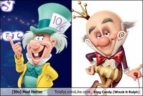(50s) Mad Hatter Totally Looks Like King Candy (Wreck it Ralph)
