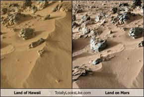 Land of Hawaii Totally Looks Like Land on Mars