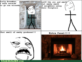 Fireplace Smell!
