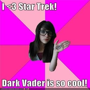 I <3 Star Trek!  Dark Vader is so cool!