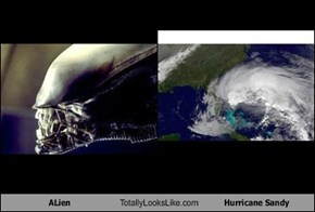ALien Totally Looks Like Hurricane Sandy