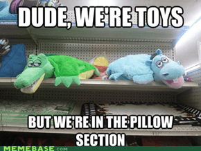 Pillow Pets Are On the High Shelf