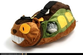 Catbus Shoulder Bag