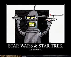 Star Wars & Star Trek