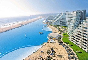 Take a Dip in the World's Largest Swimming Pool!